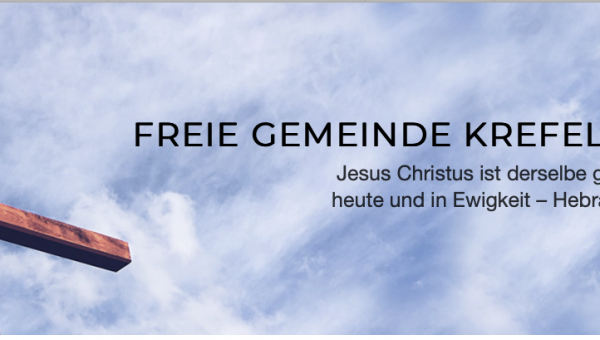 Online sermon of Krefled Church